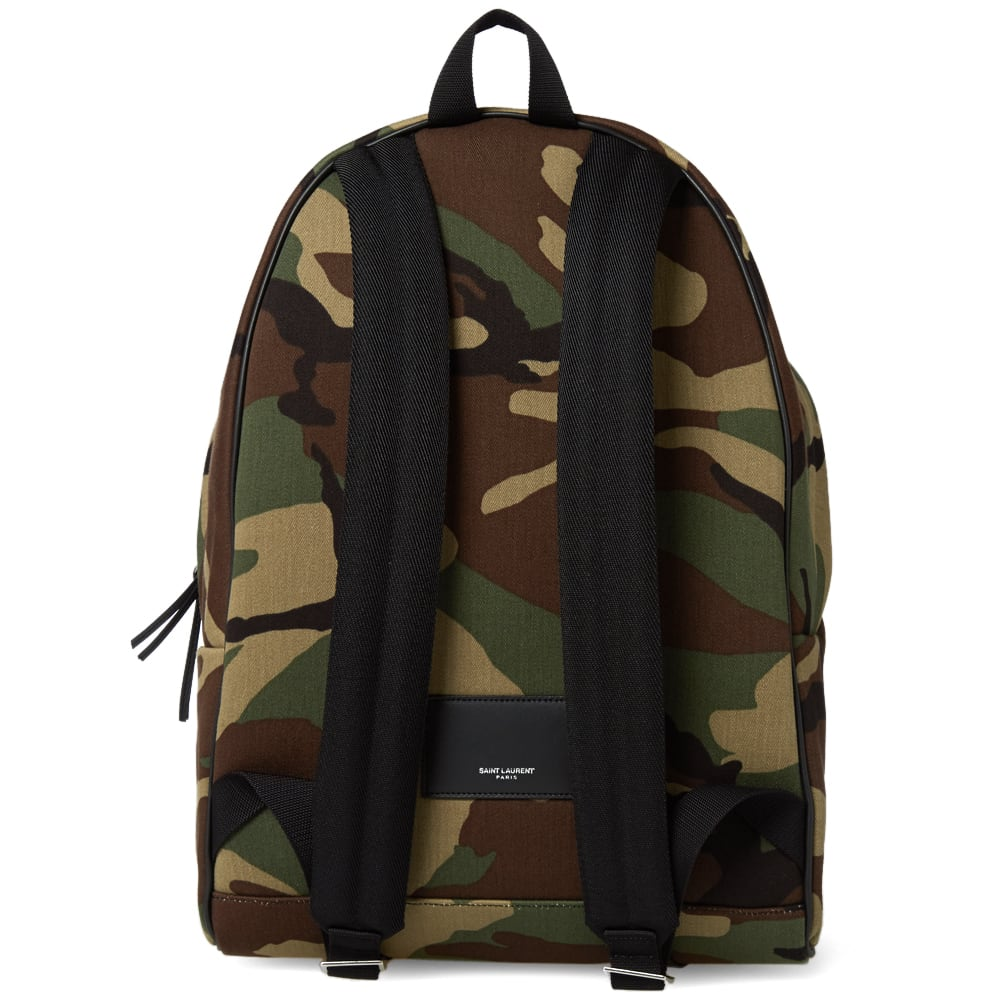 78ddd2496e15 Saint Laurent Classic Hunting Camouflage Backpack Camouflage