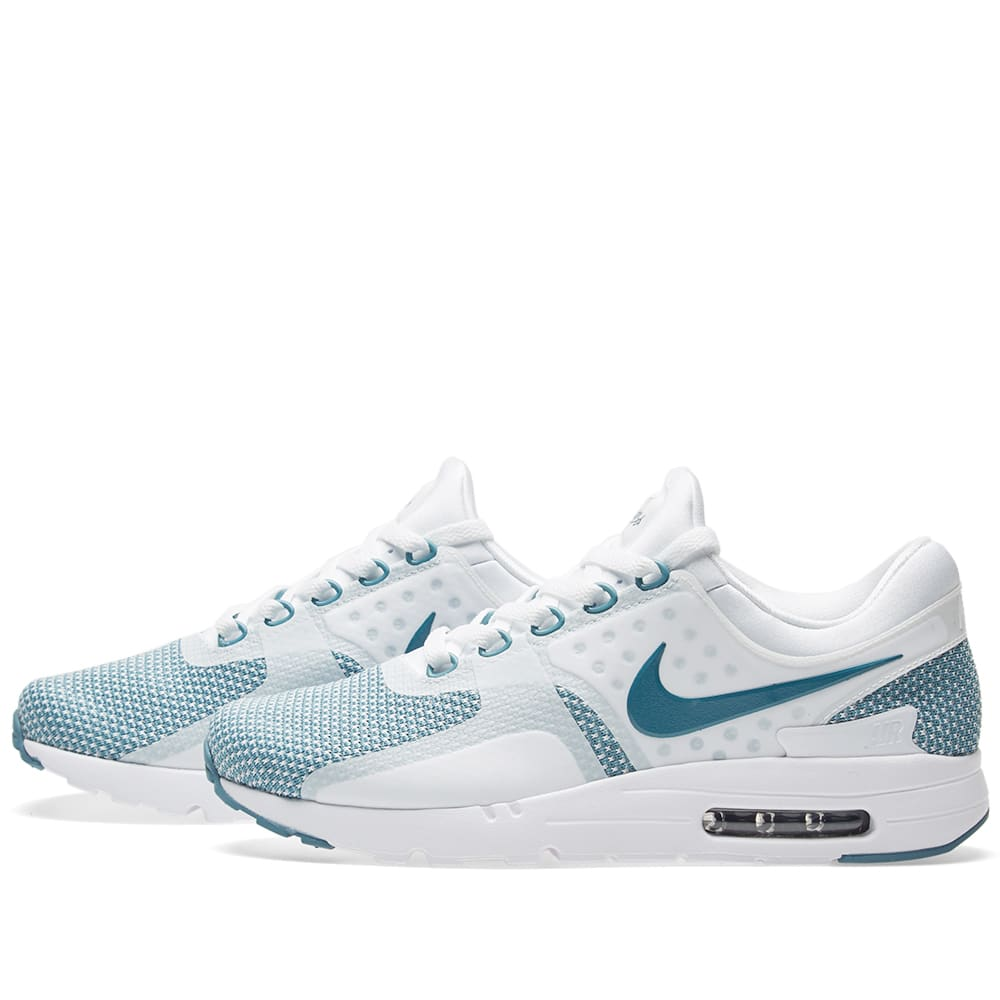 new concept 3fb13 0abac Nike Air Max Zero Essential Smokey Blue, White   Obsidian   END.