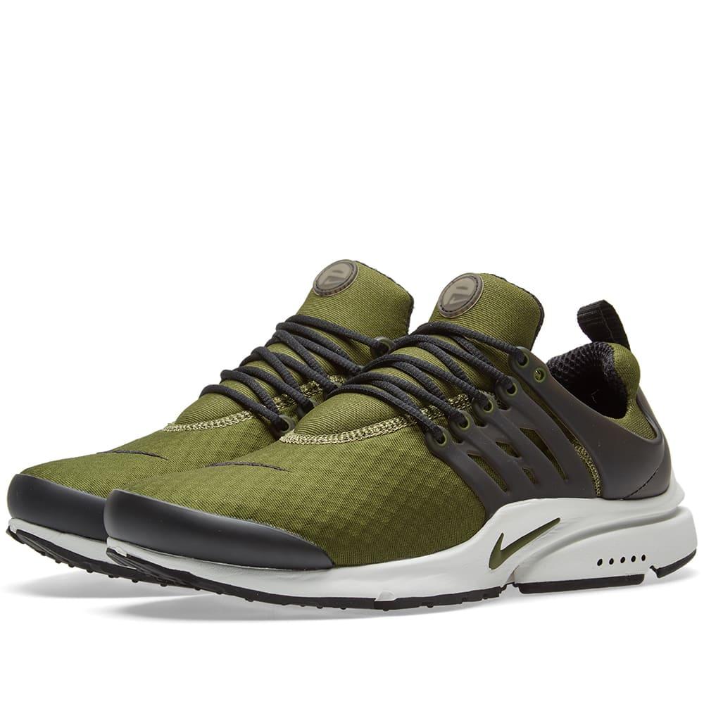 f60071a9ad Nike Air Presto Essential Legion Green & Black   END.
