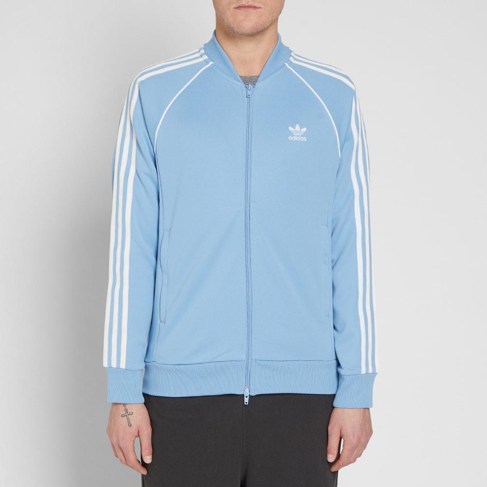 8e44372550 Superstar Adidas Ash BlueEnd Track Top DIWEH29