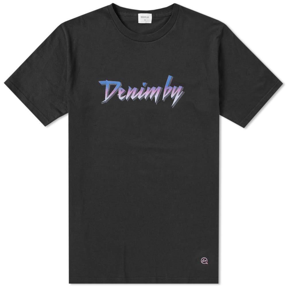 DENIM BY VANQUISH & FRAGMENT PURPLE RAIN PRINT TEE