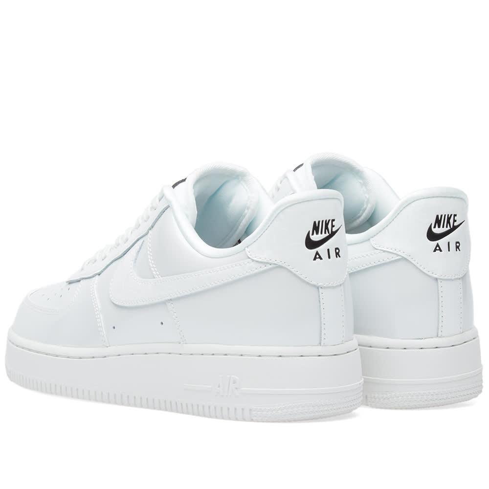 best service 6af5f 13478 Nike Air Force 1 '07 Lux W Summit White & Black | END.