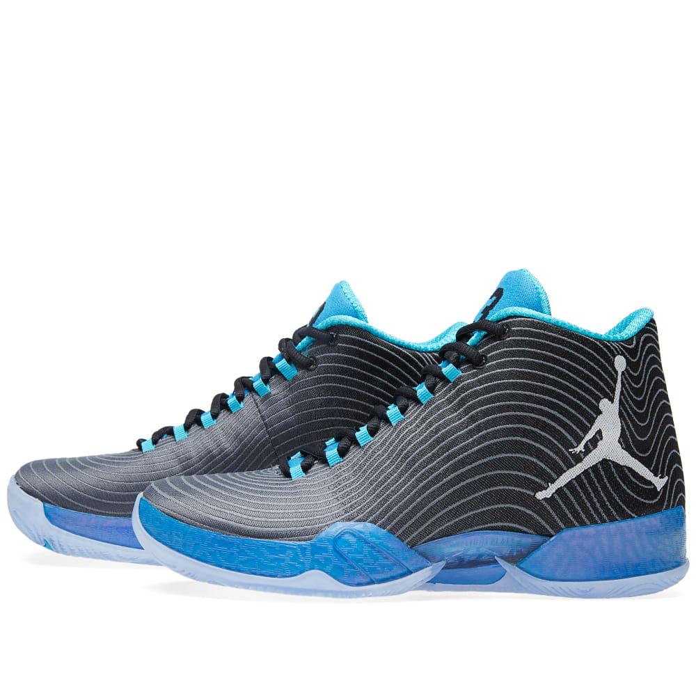 7c6e7217b0c Nike Air Jordan XX9 'Playoff' Black, White & Cool Blue | END.