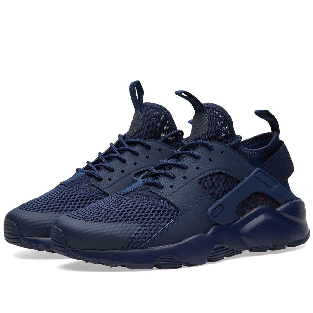 best sneakers 5f3ca 678e9 Nike Air Huarache Run Ultra BR. Midnight Navy