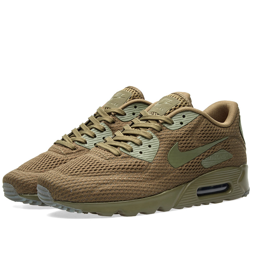 Nike Air Max 90 Ultra BR shoes olive
