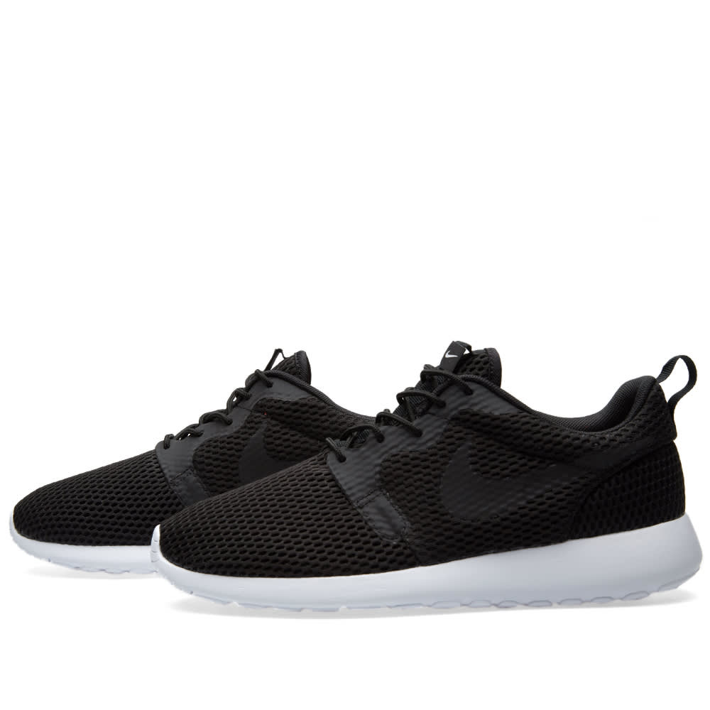 007c7142b890 Nike Roshe One Hyperfuse BR Black   White