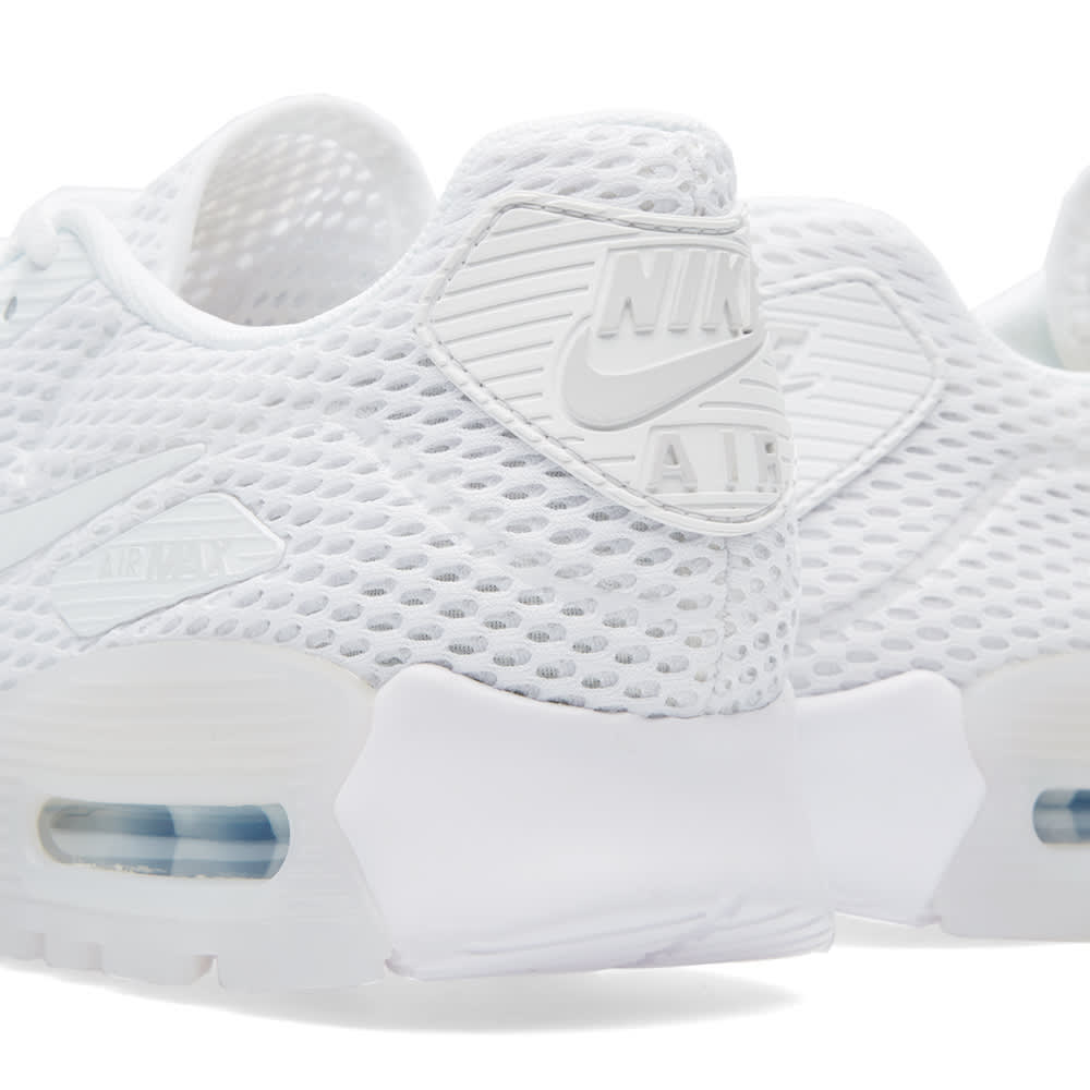 outlet store bd3e4 78012 Nike W Air Max 90 Ultra BR White   Pure Platinum   END.