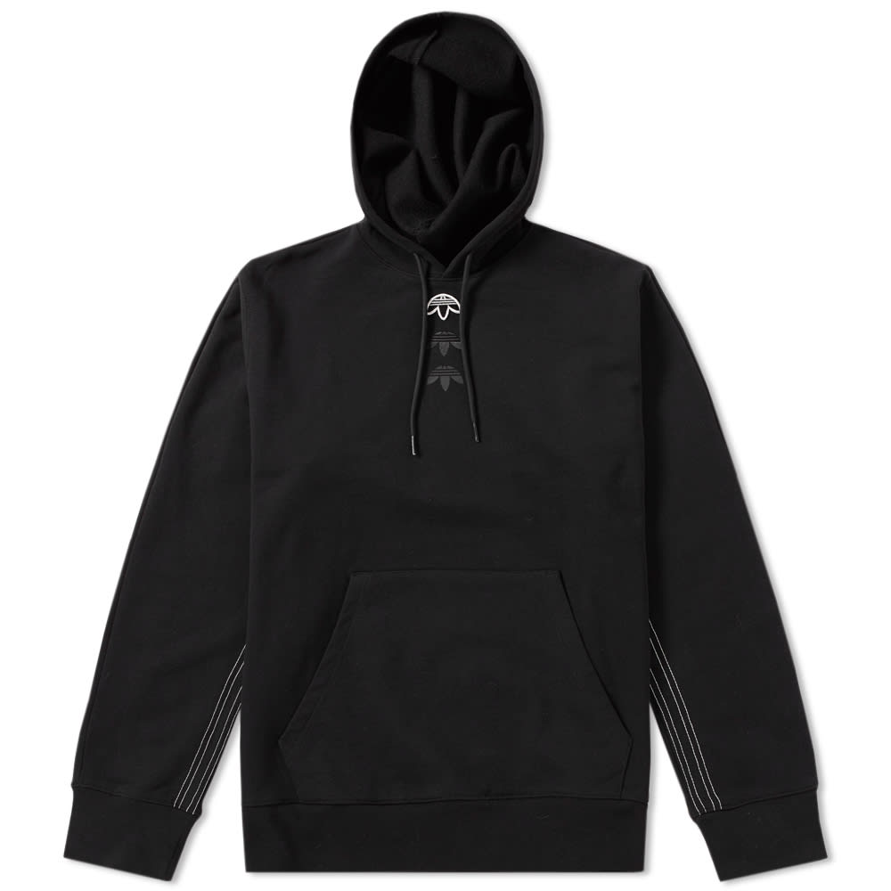 adidas x alexander wang logo hoody black. Black Bedroom Furniture Sets. Home Design Ideas