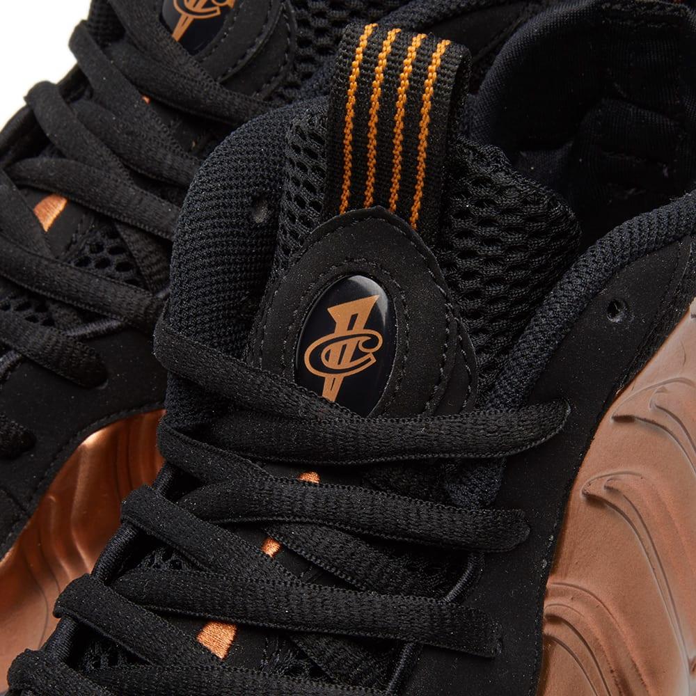 0cddc48b91e Nike Air Foamposite One Black   Metallic Copper