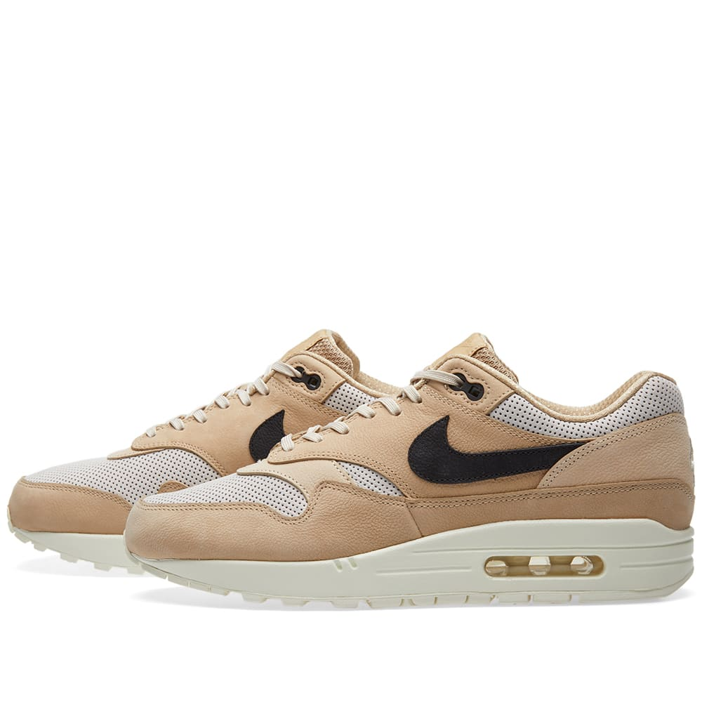 sports shoes eecf5 4be10 Nike W Air Max 1 Pinnacle Mushroom, Black   Light Bone   END.