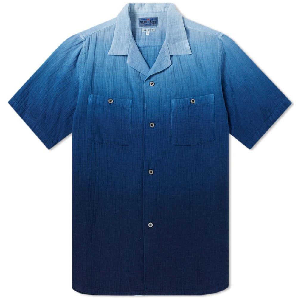 BLUE BLUE JAPAN FADED INDIGO SHIRT