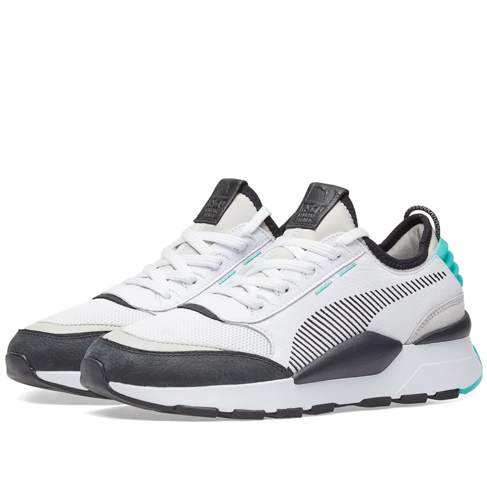 info for c555e d6291 Puma RS-0  Re-Invention  White, Grey Violet   Green   END.