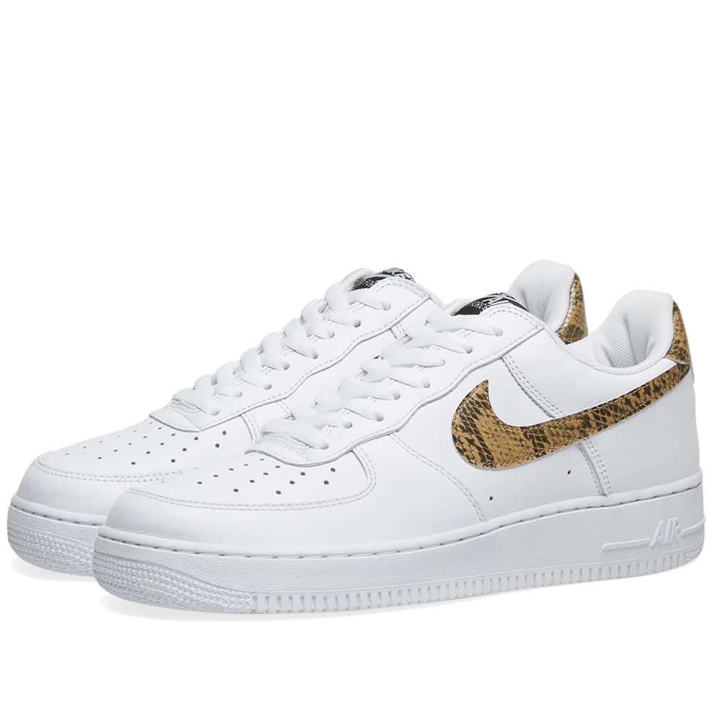 pretty nice d3c51 ec5ad Nike Air Force 1 Low Retro White   Element Gold   END.