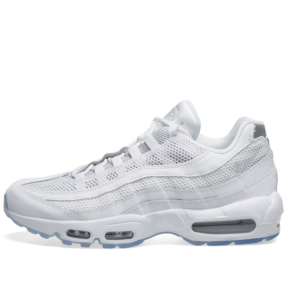 huge selection of ffca4 b1dd4 Nike Air Max 95 Essential Men's Shoe - White