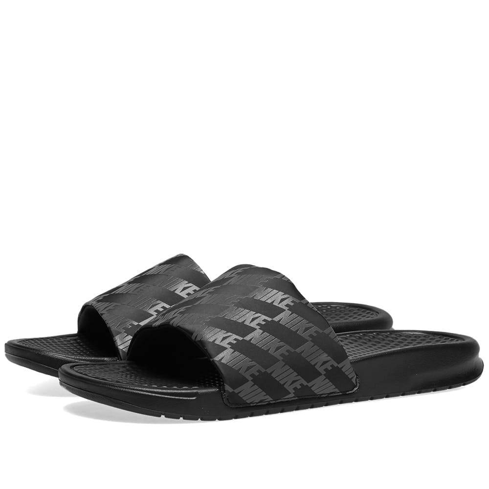 buy online 8967a f9897 Nike Benassi JDI Black   Dark Grey   END.