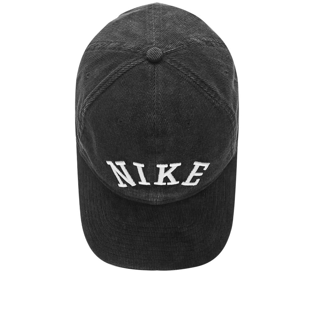 11677b21b9afd5 Nike Retro Logo Cord Cap Black | END.
