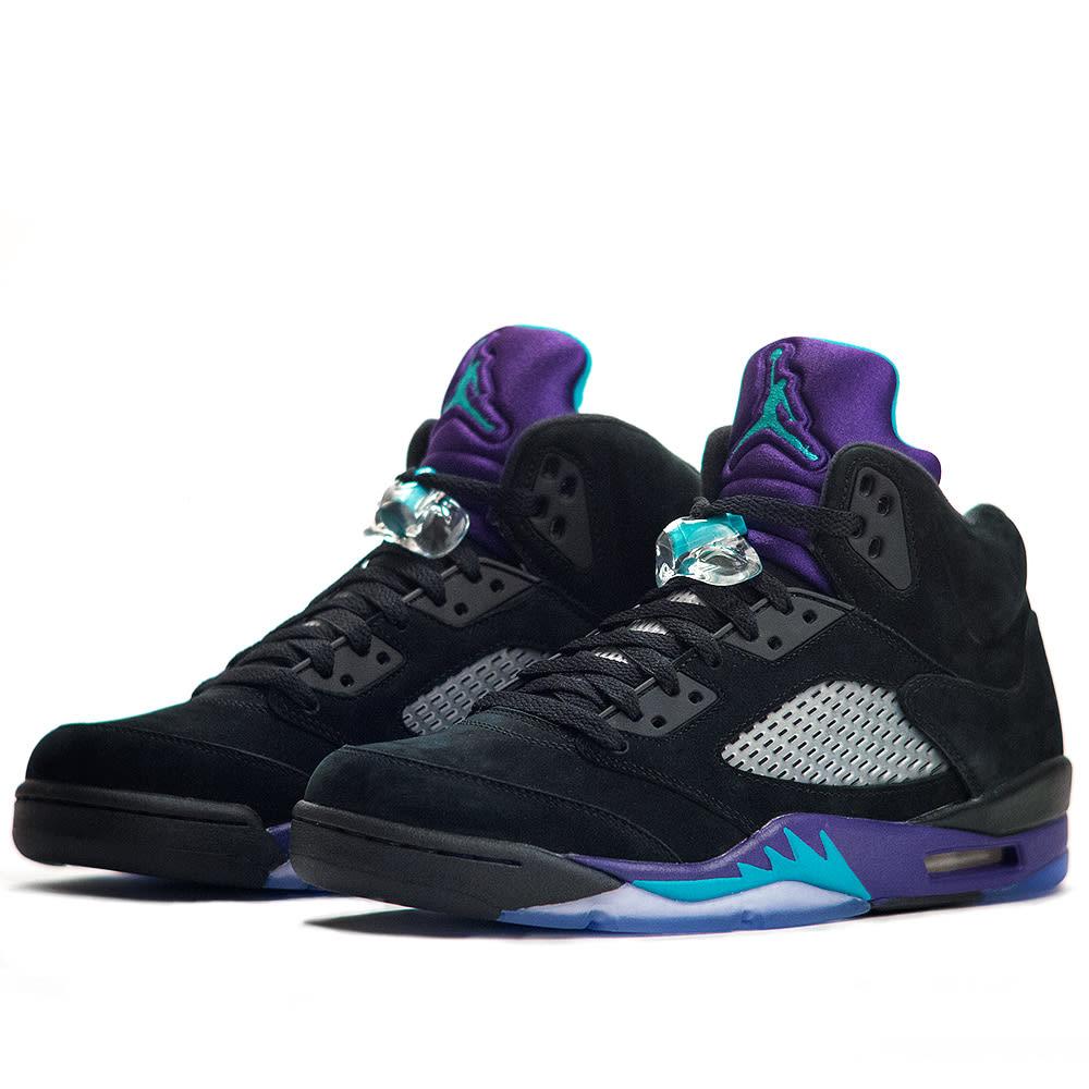 pas cher pour réduction 980c1 9f647 Nike Air Jordan V Retro 'Black Grape'