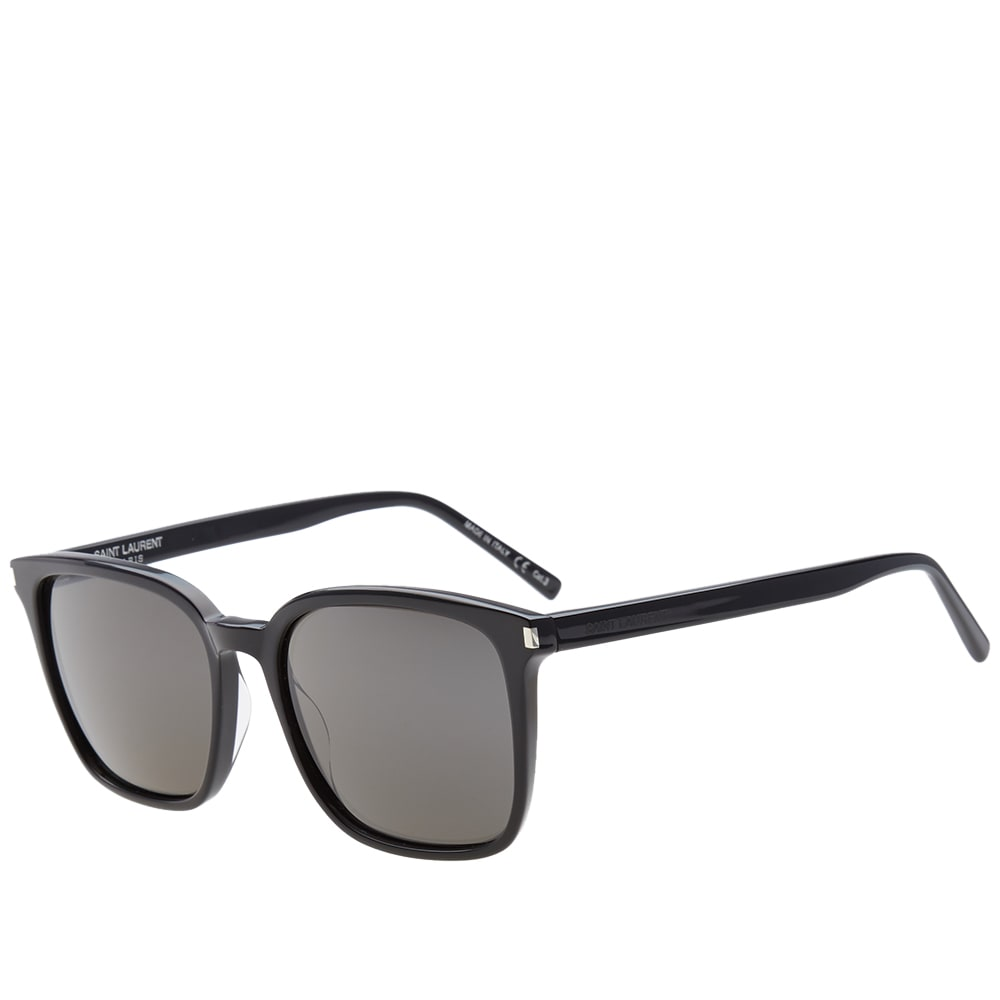 b97b4145b793 Saint Laurent SL 93 Sunglasses Black & Smoke | END.