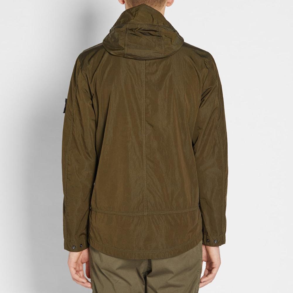 Q Nylon Flock Stone Island Jacket