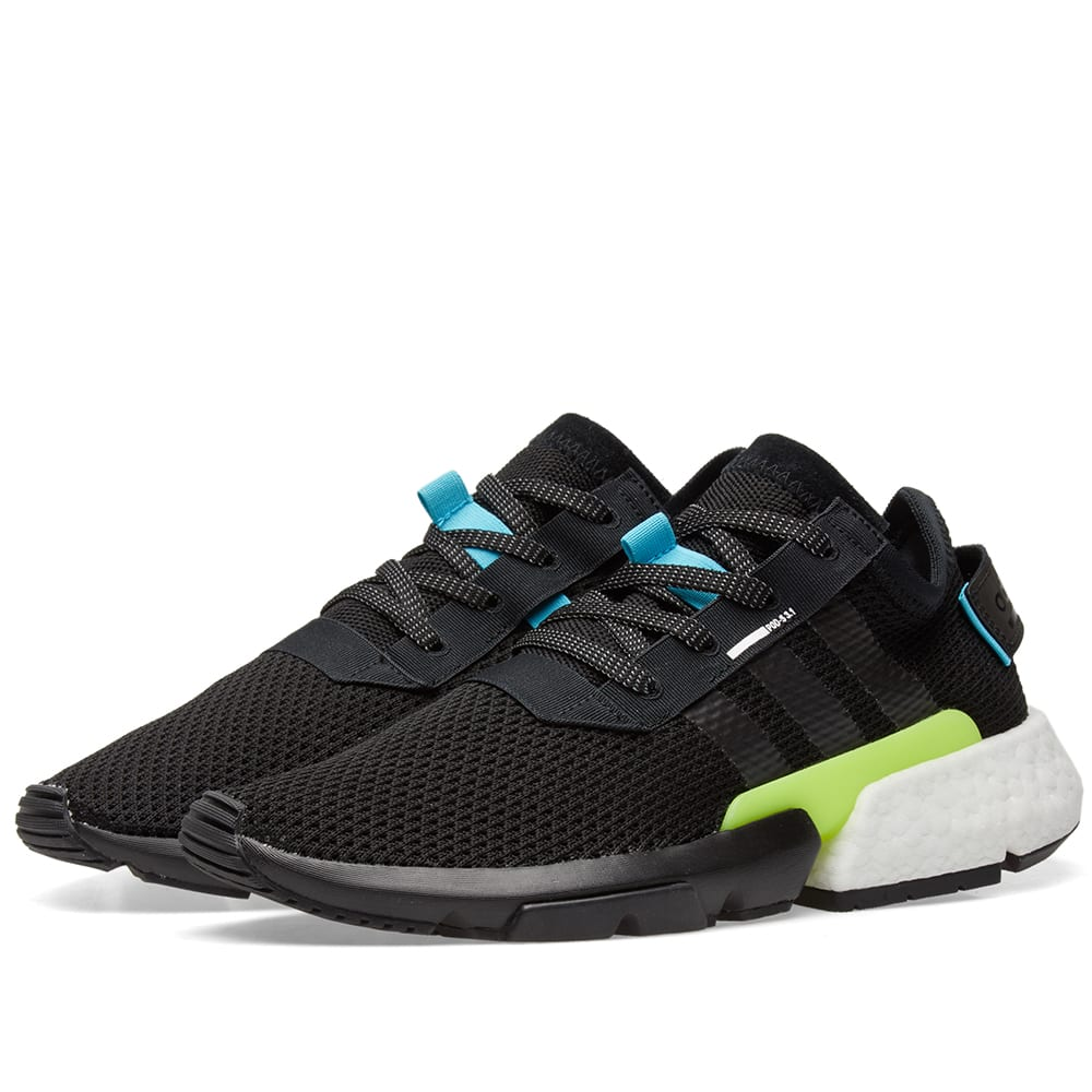the latest 58458 59c1f Adidas POD S3.1 Core Black   END.