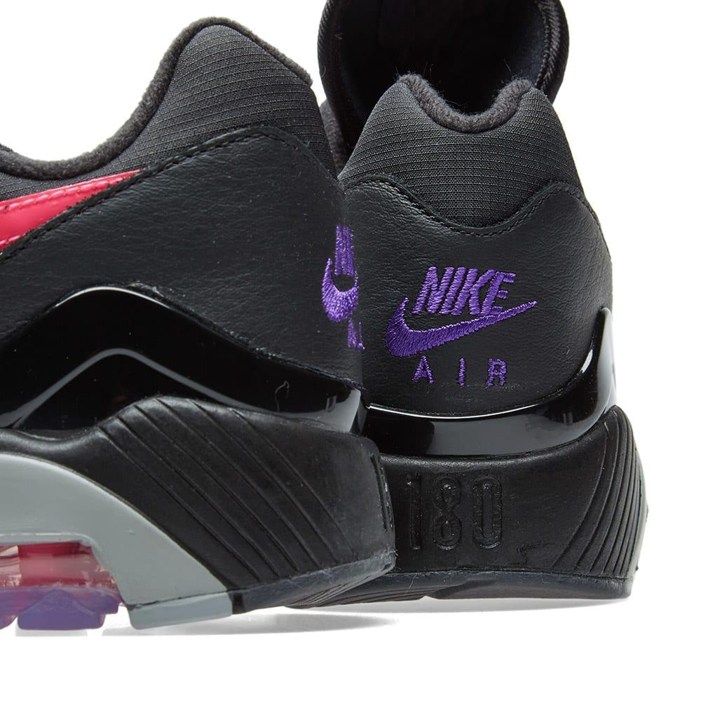 UK Nike Air Max 180 Pink Blast Sneaker BlackPinkblast