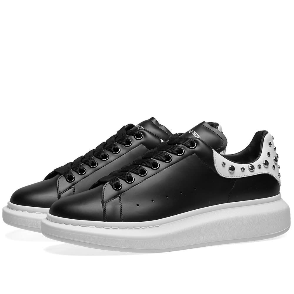 black and white alexander mcqueen