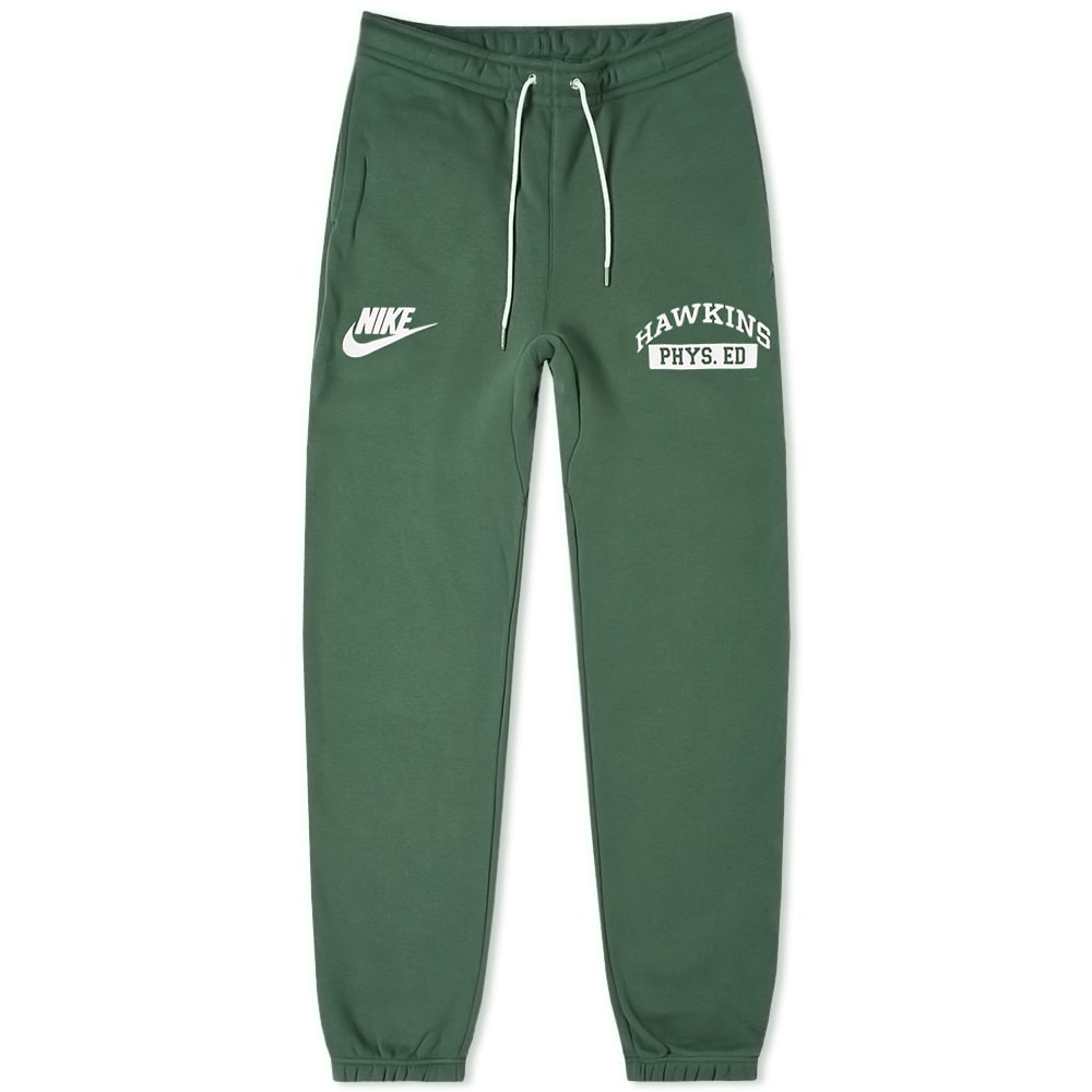 nike sweats green