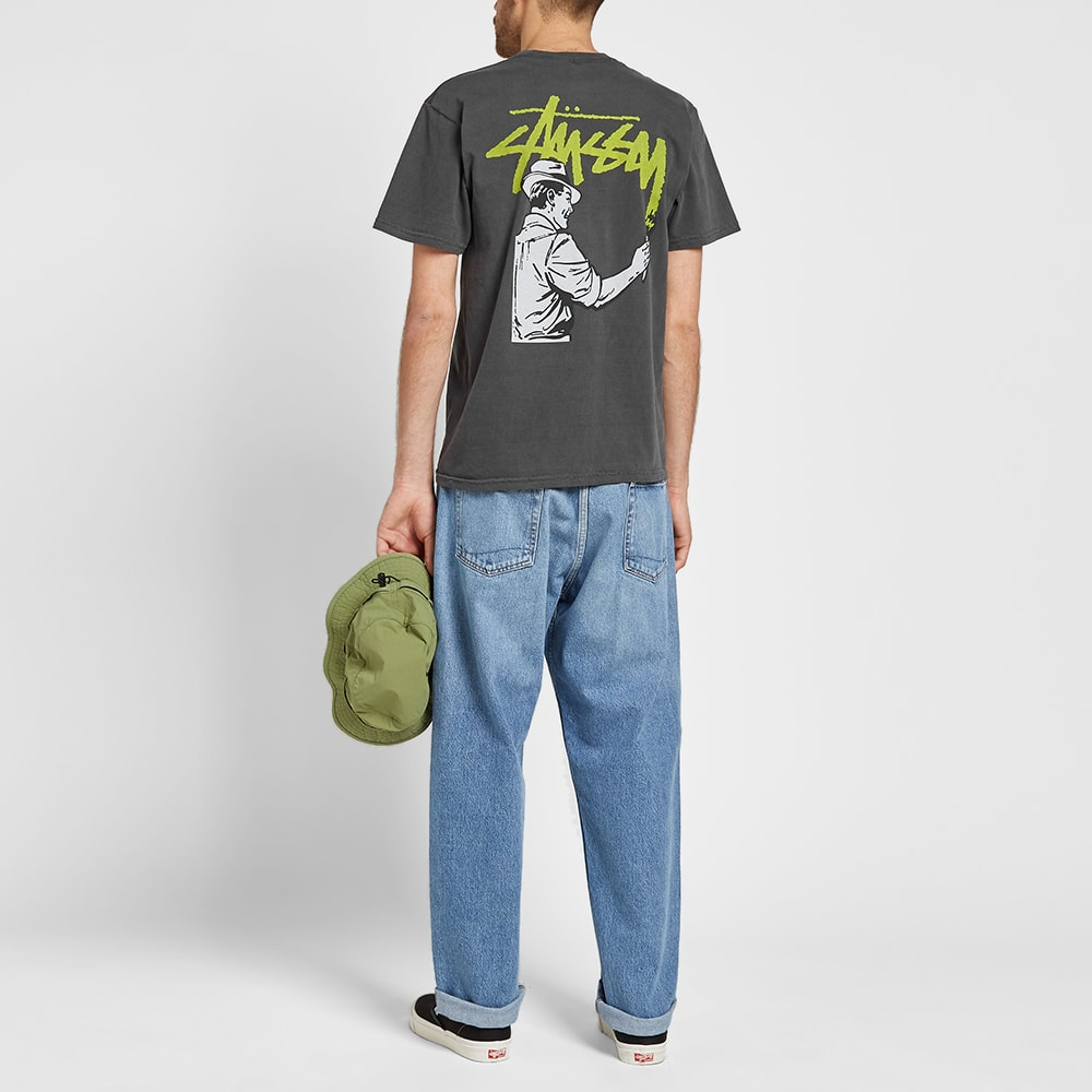 279d9549 Stussy Pigment Dyed Painter Tee Black | END.