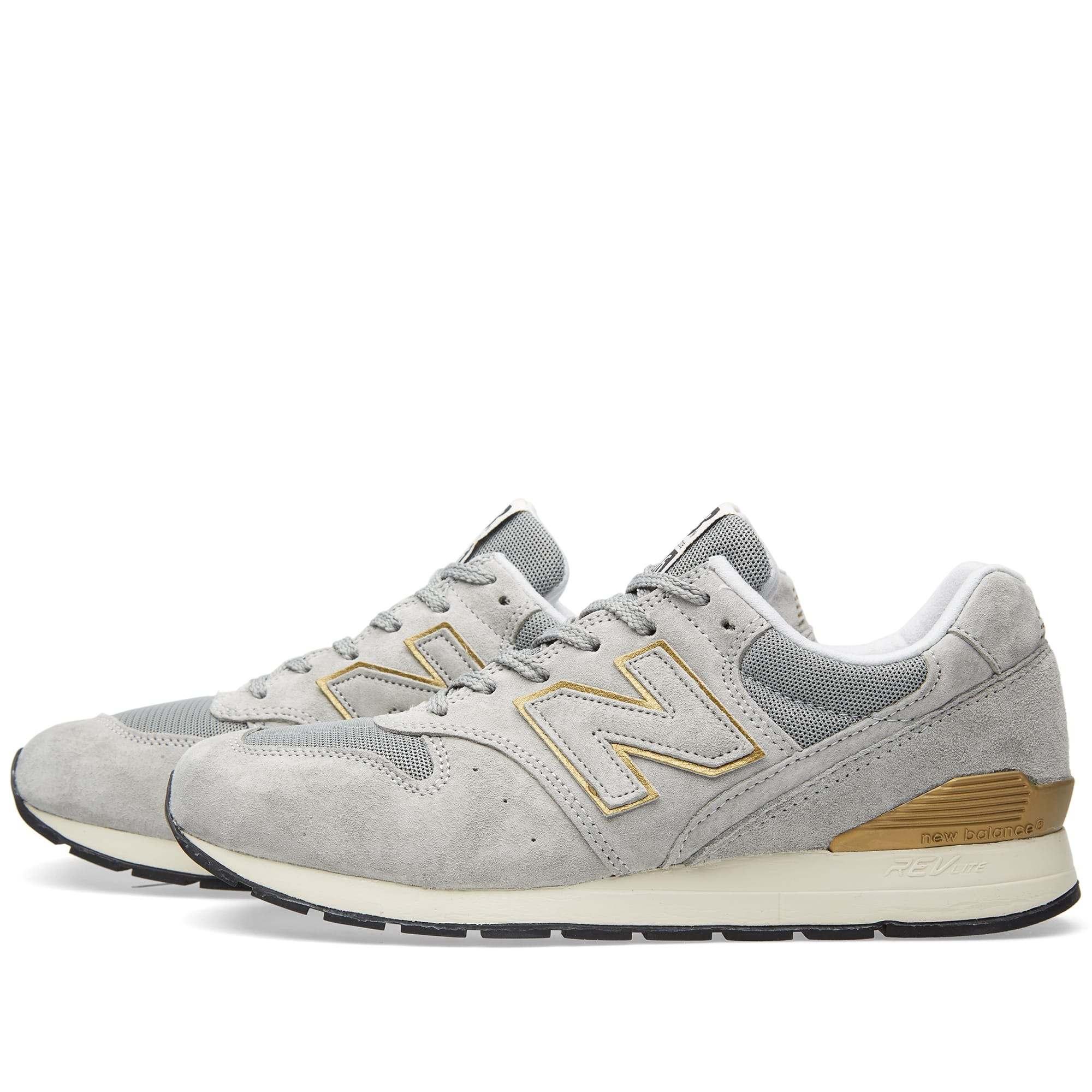 finest selection 3a6c2 30062 New Balance MRL996HA Grey   Gold   END.