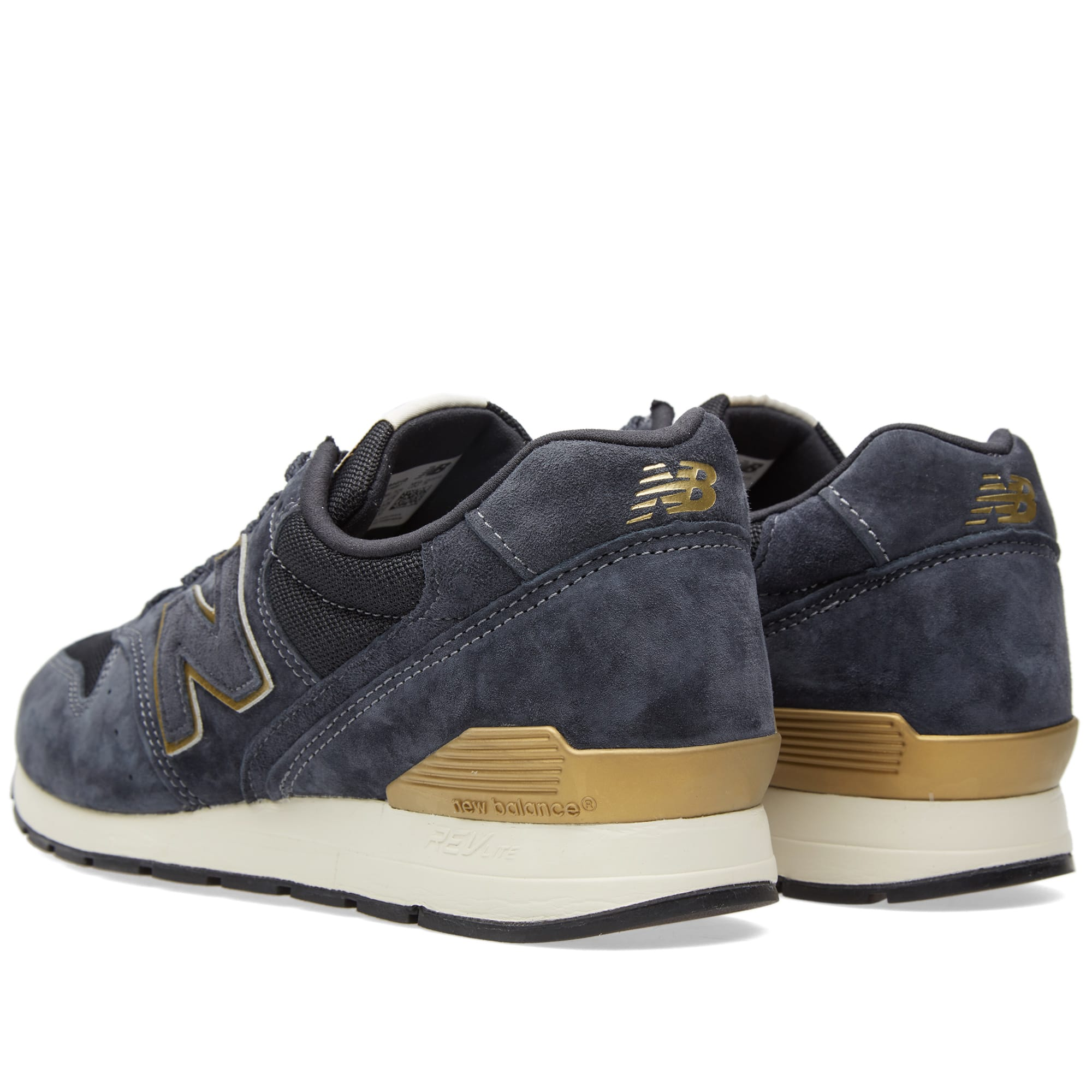 purchase cheap be215 a6c8a New Balance MRL996HB Navy   Gold   END.