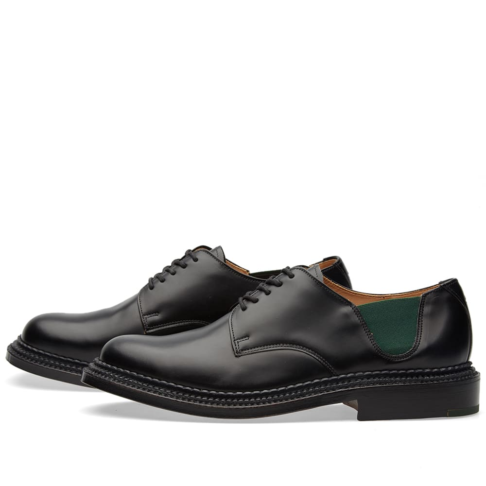 2c4b29f43e Grenson 4 Four Triple Welt Black Rub Off | END.