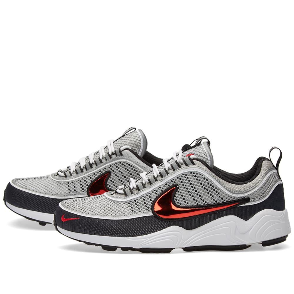2a40f7e6310b Nike Air Zoom Spiridon QS Black   Sport Red