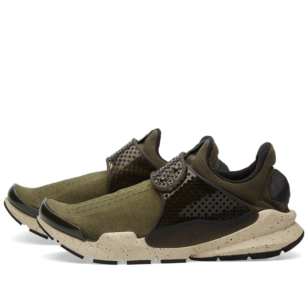 Nike Sock Dart Cargo Khaki, Black