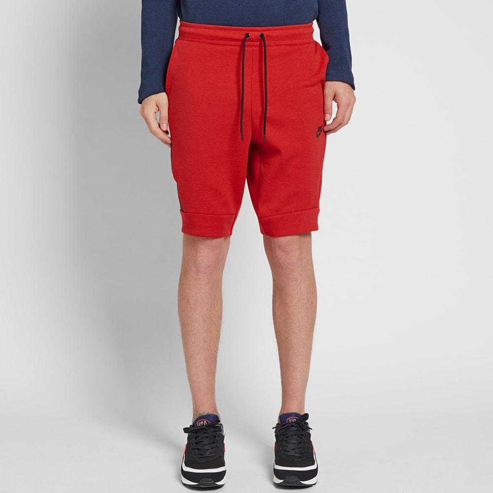 nike shorts fleece
