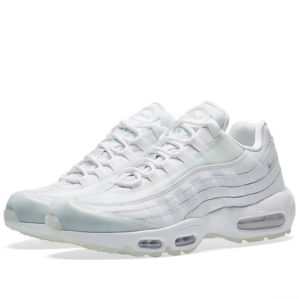 nike air max 95 se w white pure platinum ice. Black Bedroom Furniture Sets. Home Design Ideas