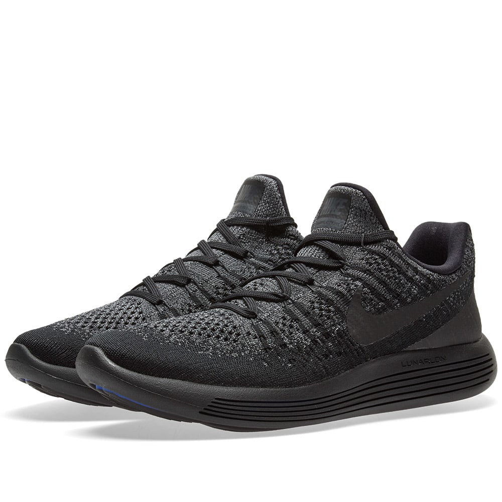c7ed297036397 Nike LunarEpic Low Flyknit 2 Black