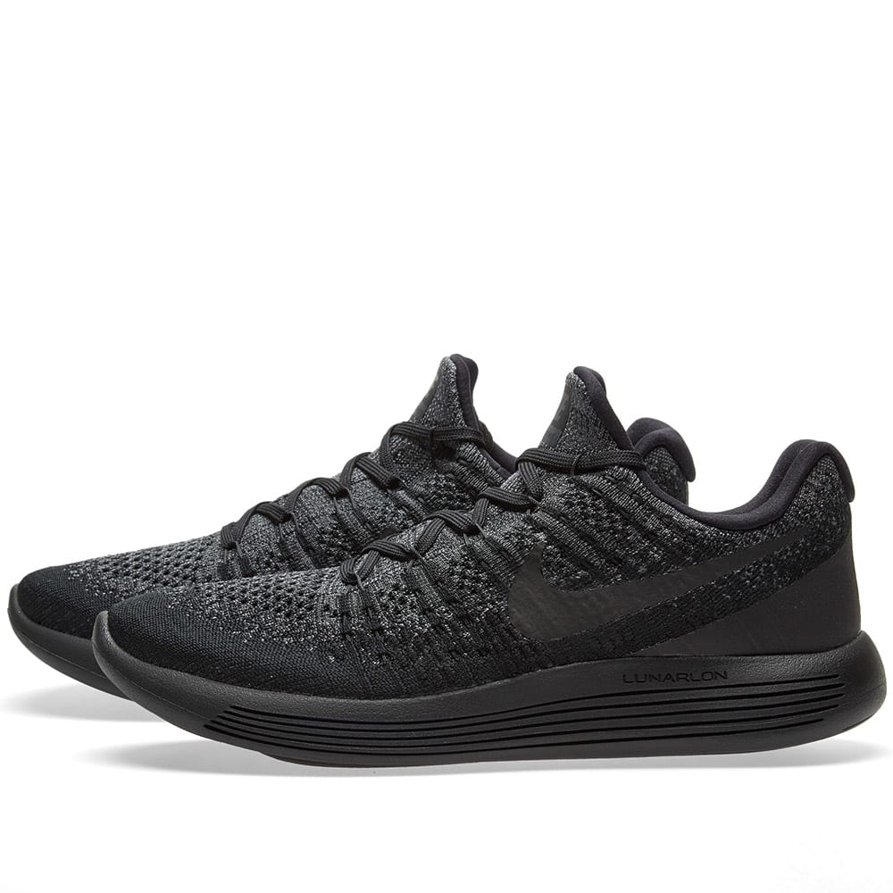 48d0d8bfc851c Nike LunarEpic Low Flyknit 2 Black
