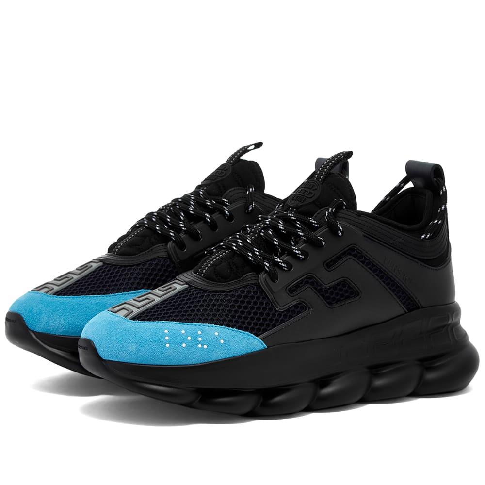 Versace Chain Reaction Sneaker Black