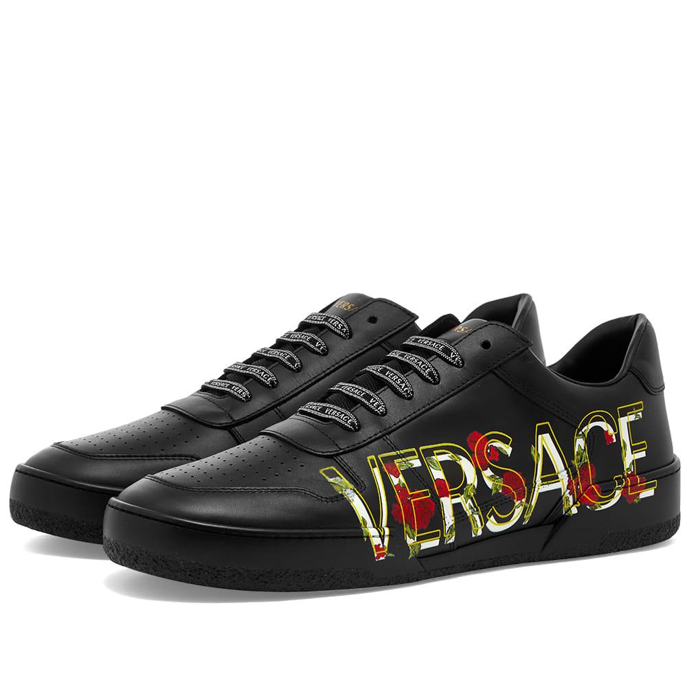 Versace Side Logo Tennis Sneaker