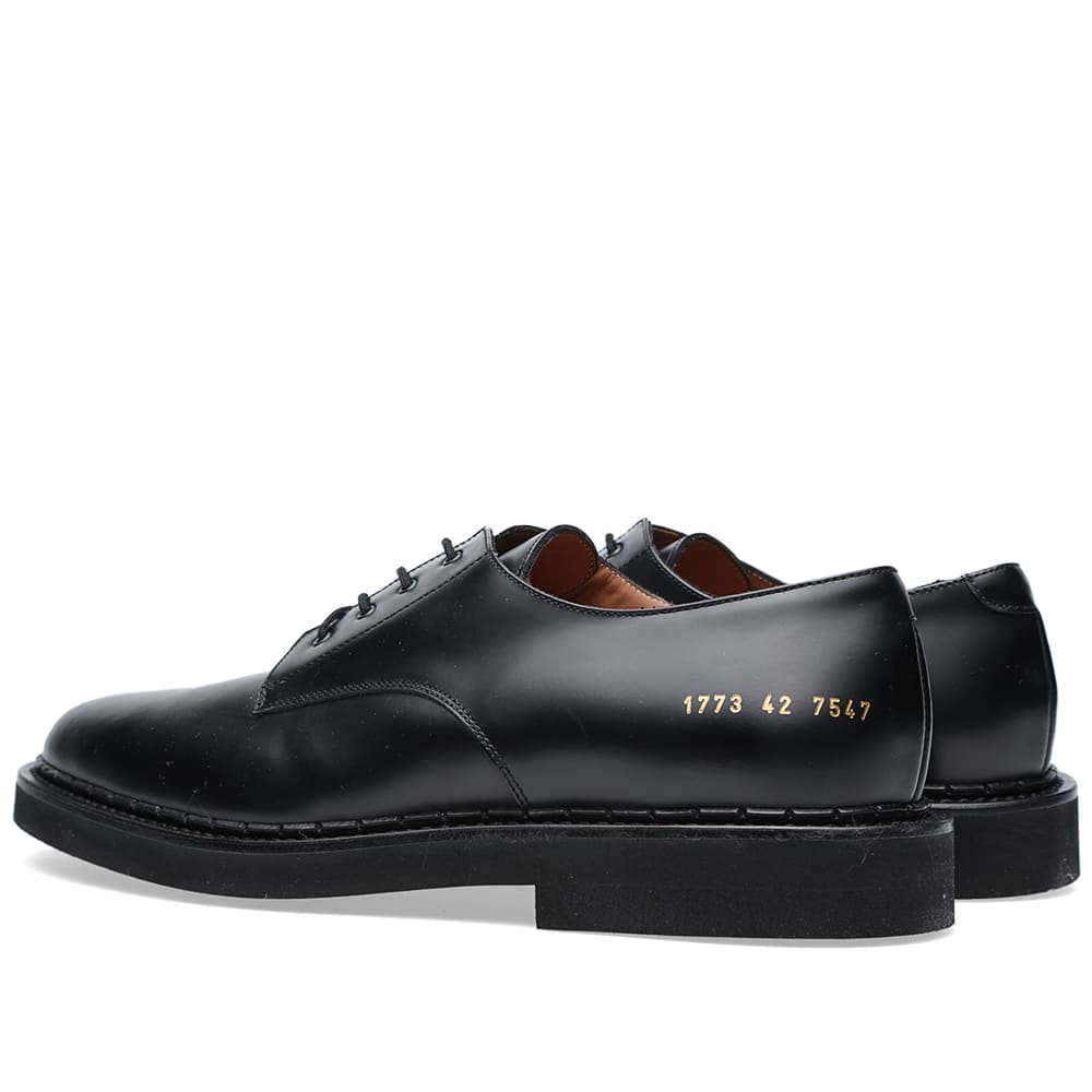 Common Projects Cadet Derby Shoe Black