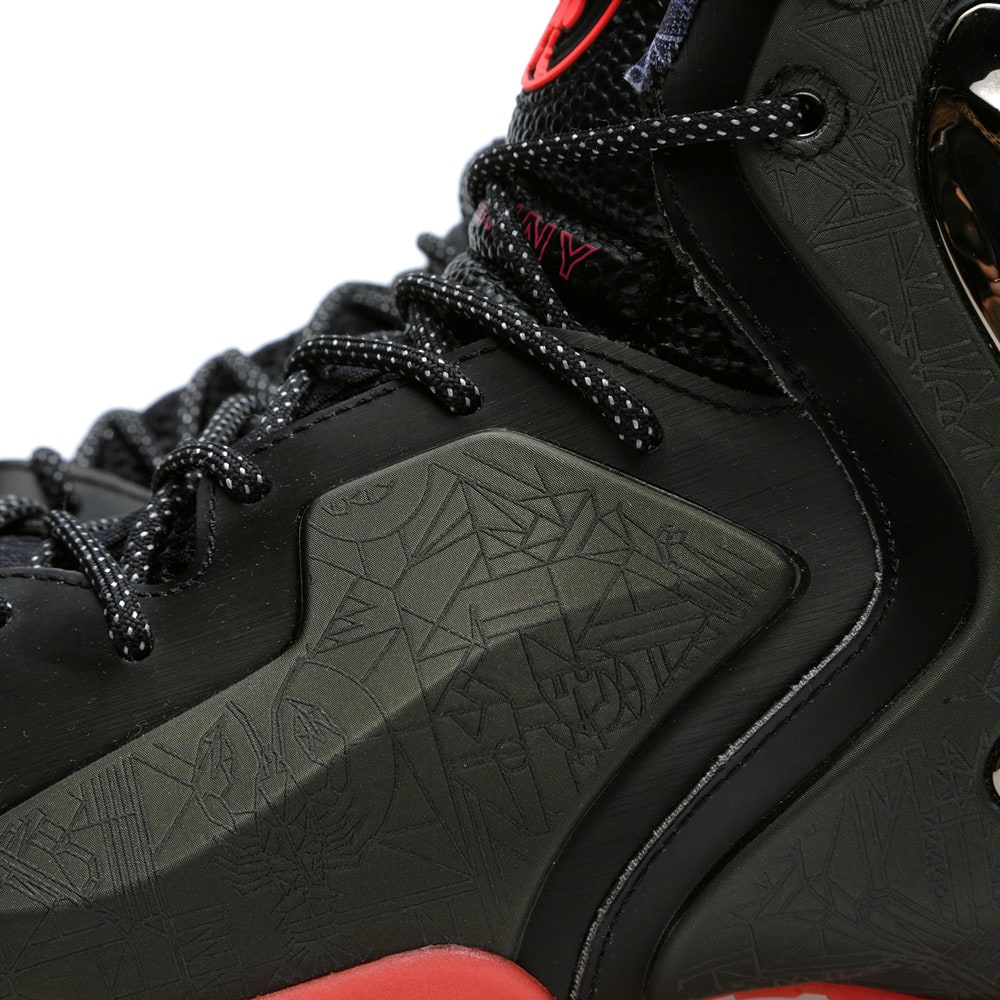 best sneakers 91f33 b9e92 Nike Lil' Penny Posite PRM QS All Star 'NOLA Gumbo League' Black | END.
