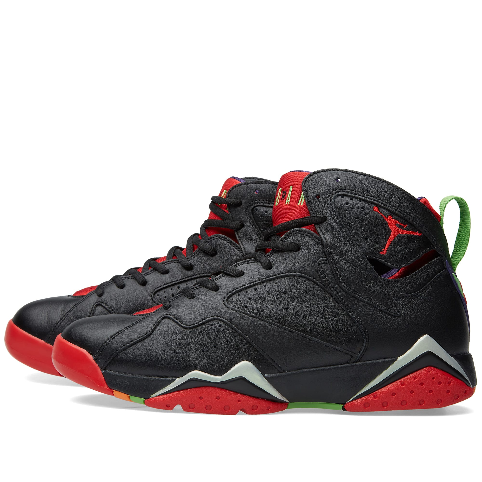 Nike Air Jordan VII Retro 'Marvin The Martian' (Black ... Nike Air Jordan 7 Retro