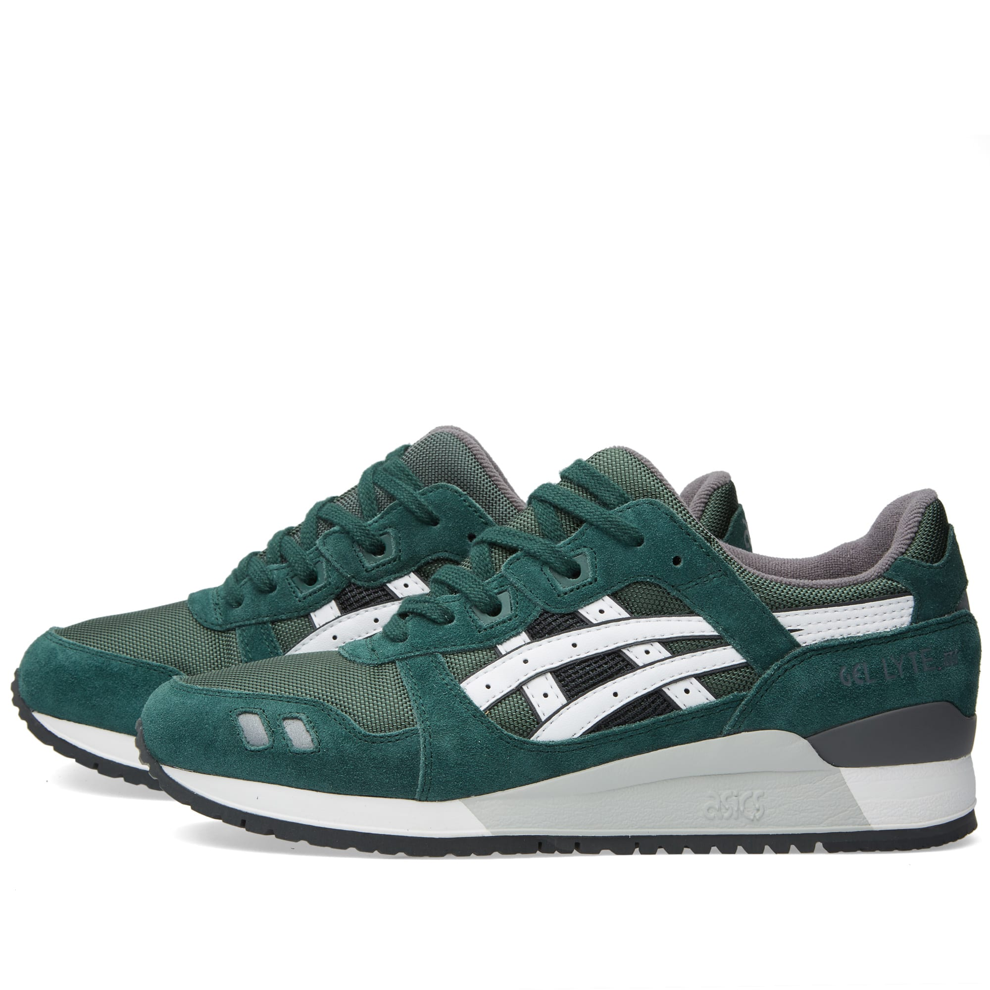 ASICS Gel Lyte III Varsity Dark Green White