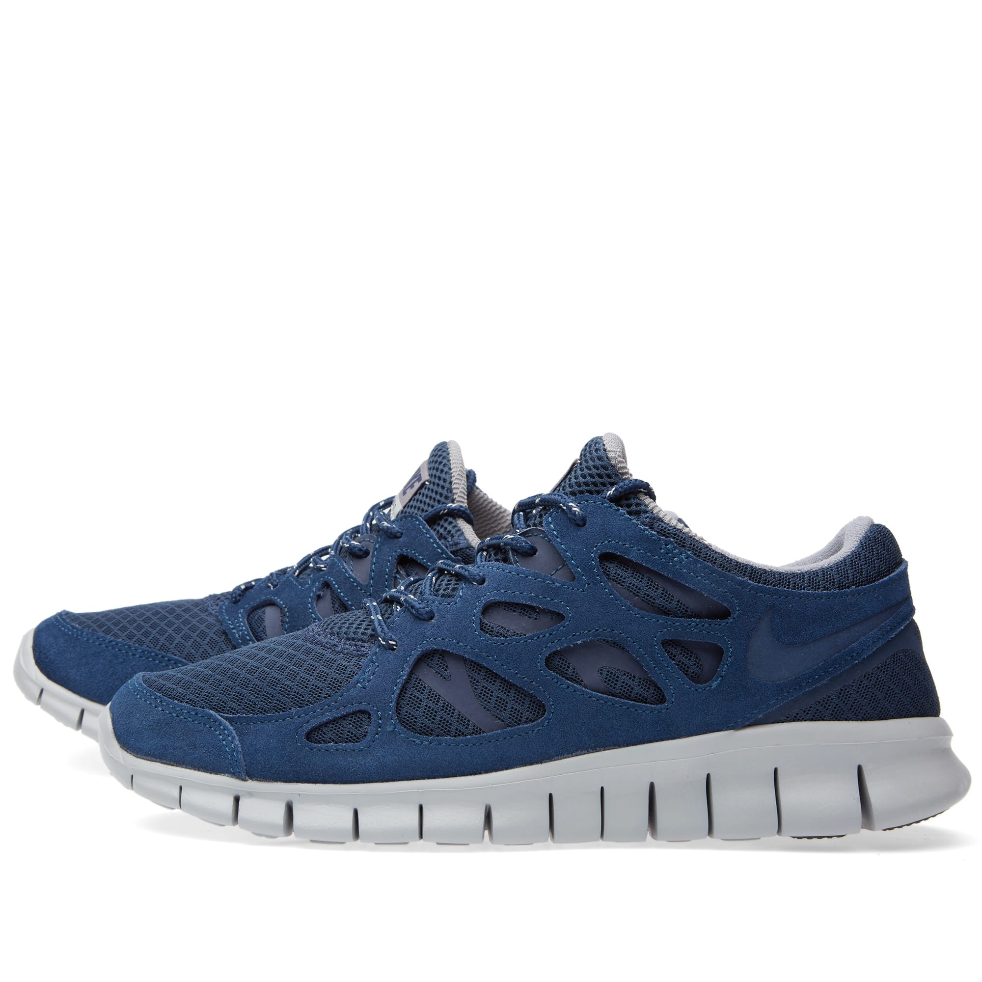 competitive price 380f0 68a09 Nike Free Run 2 Midnight Navy   Silver   END.