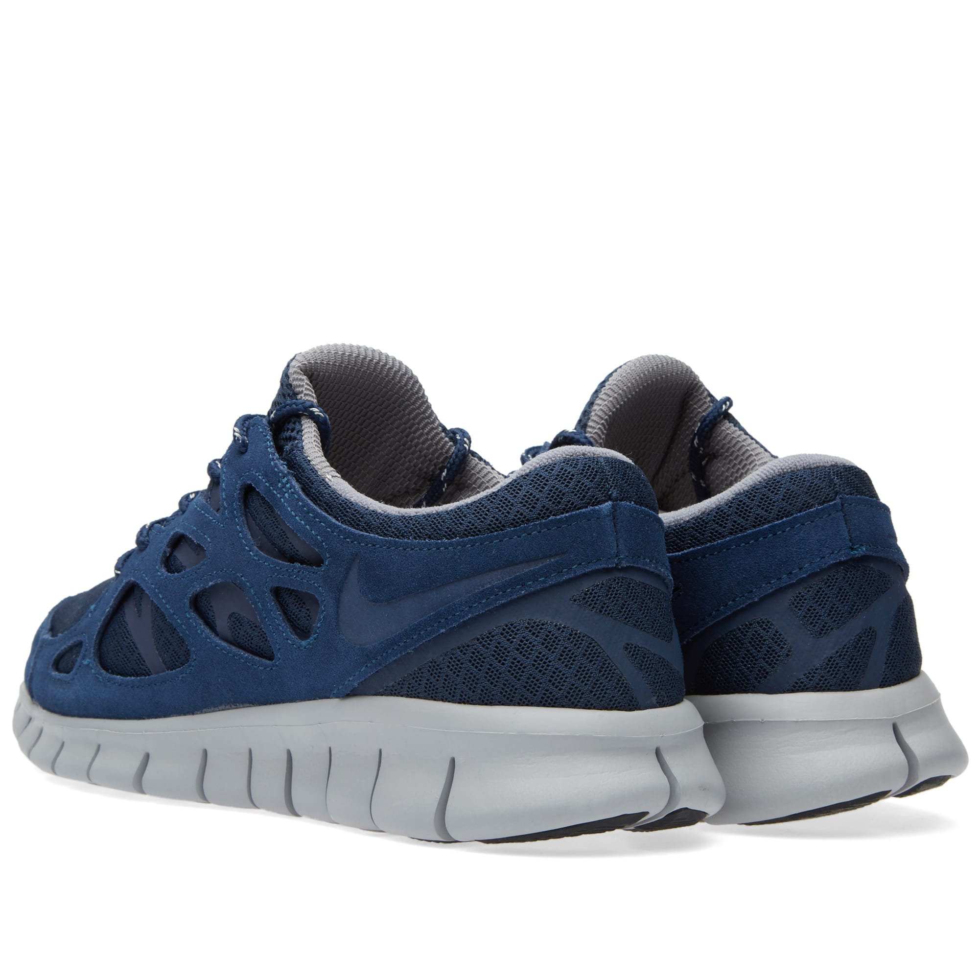 8d73a62ee7d8 Nike Free Run 2 Midnight Navy   Silver