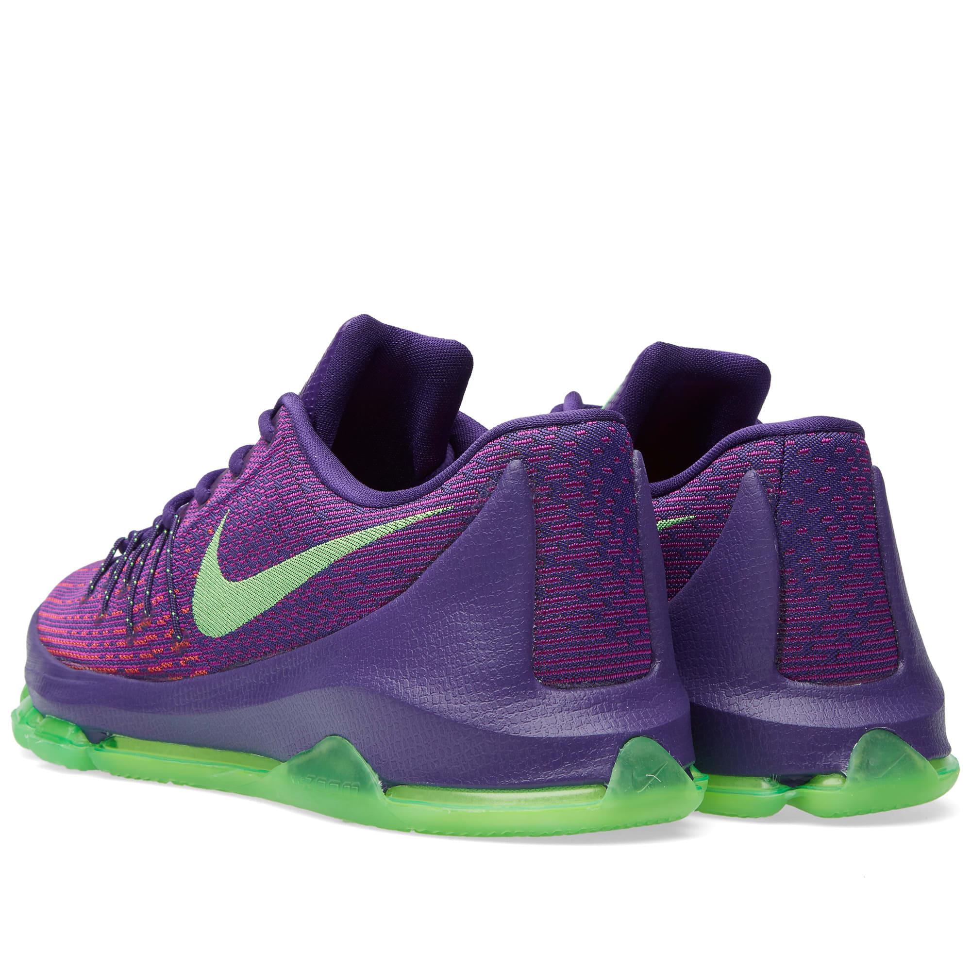 official photos f4ccf 20043 Nike KD 8  Suit  Court Purple   Green Strike   END.