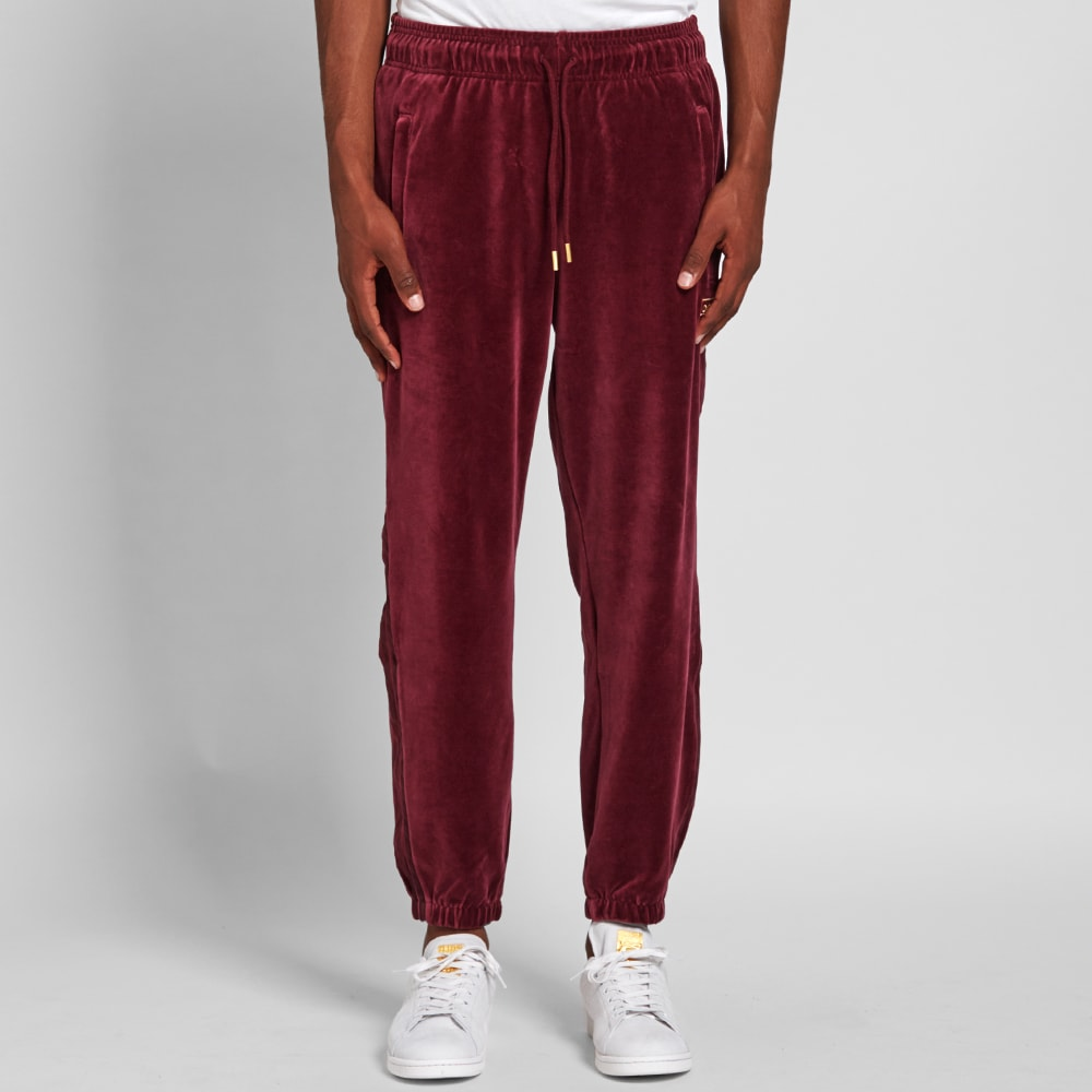 Adidas Velour Cuffed Track Pant