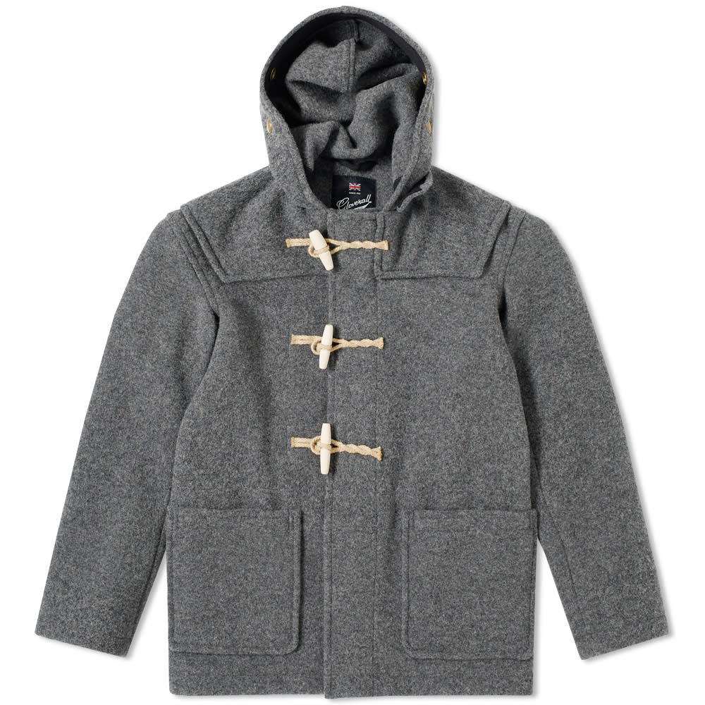 GLOVERALL MID LENGTH MONTY DUFFLE COAT