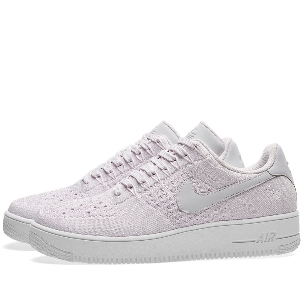 new style 94fa6 79633 Nike Air Force 1 Flyknit Low Light Violet   White   END.
