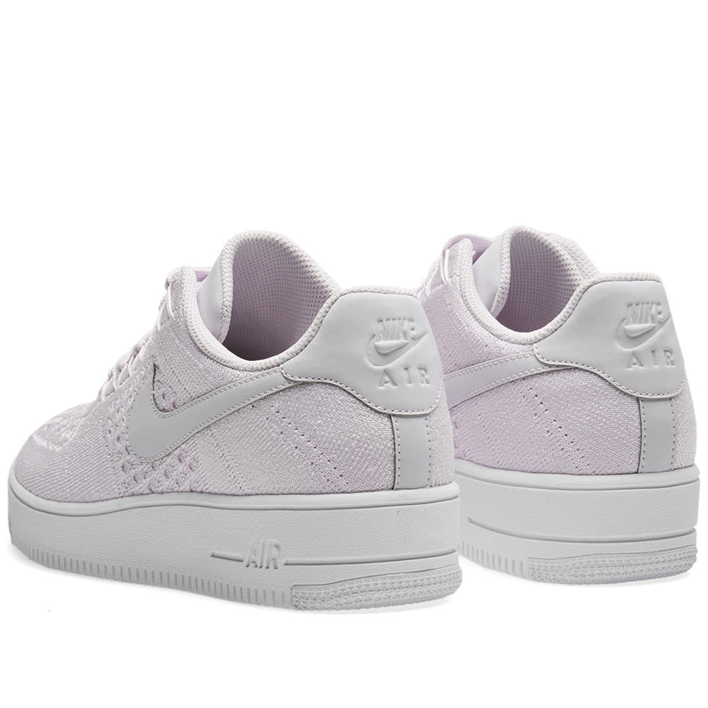 new style 9a3d1 fb171 Nike Air Force 1 Flyknit Low Light Violet   White   END.